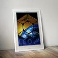 Retro Space Travel Poster - LEO