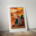 Retro Space Posters - Surveyors Wanted