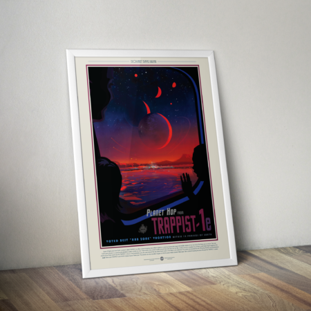 Retro Space Posters - Trappist 1e