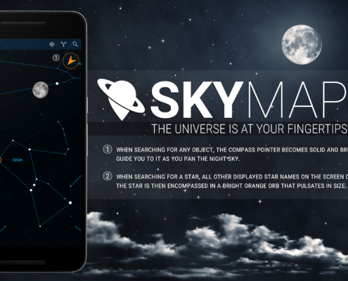 Sky Map for Android - UI Refresh